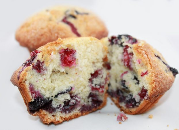 Berry breakfast muffins