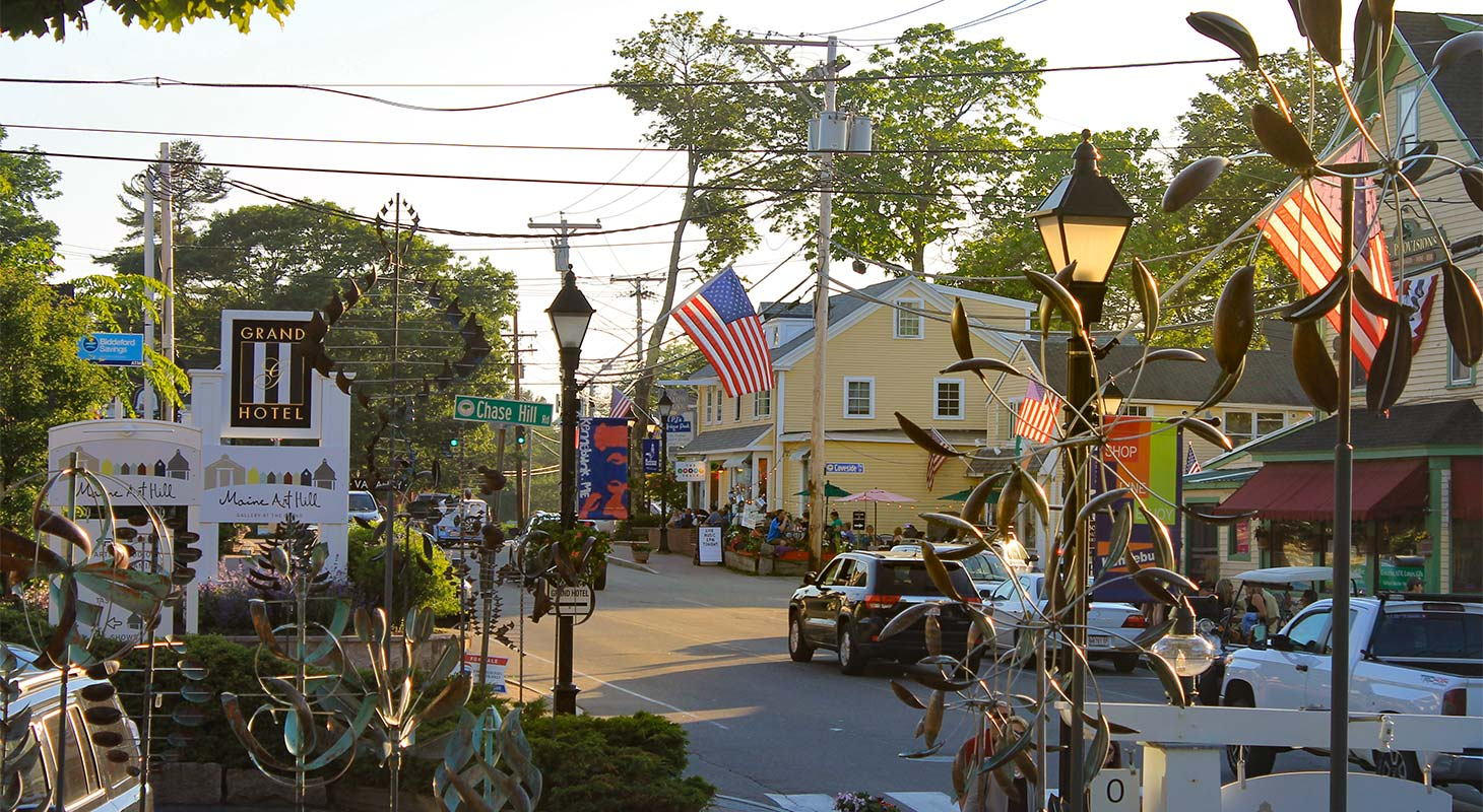 Downtown Kennebunkport