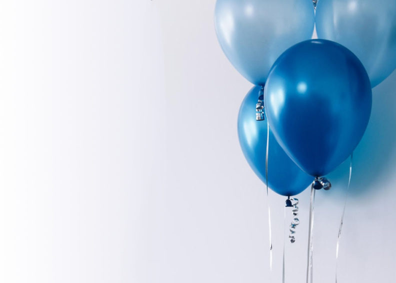 4 Balloons in a Bouquet