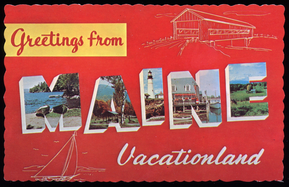 Maine Greeting Card