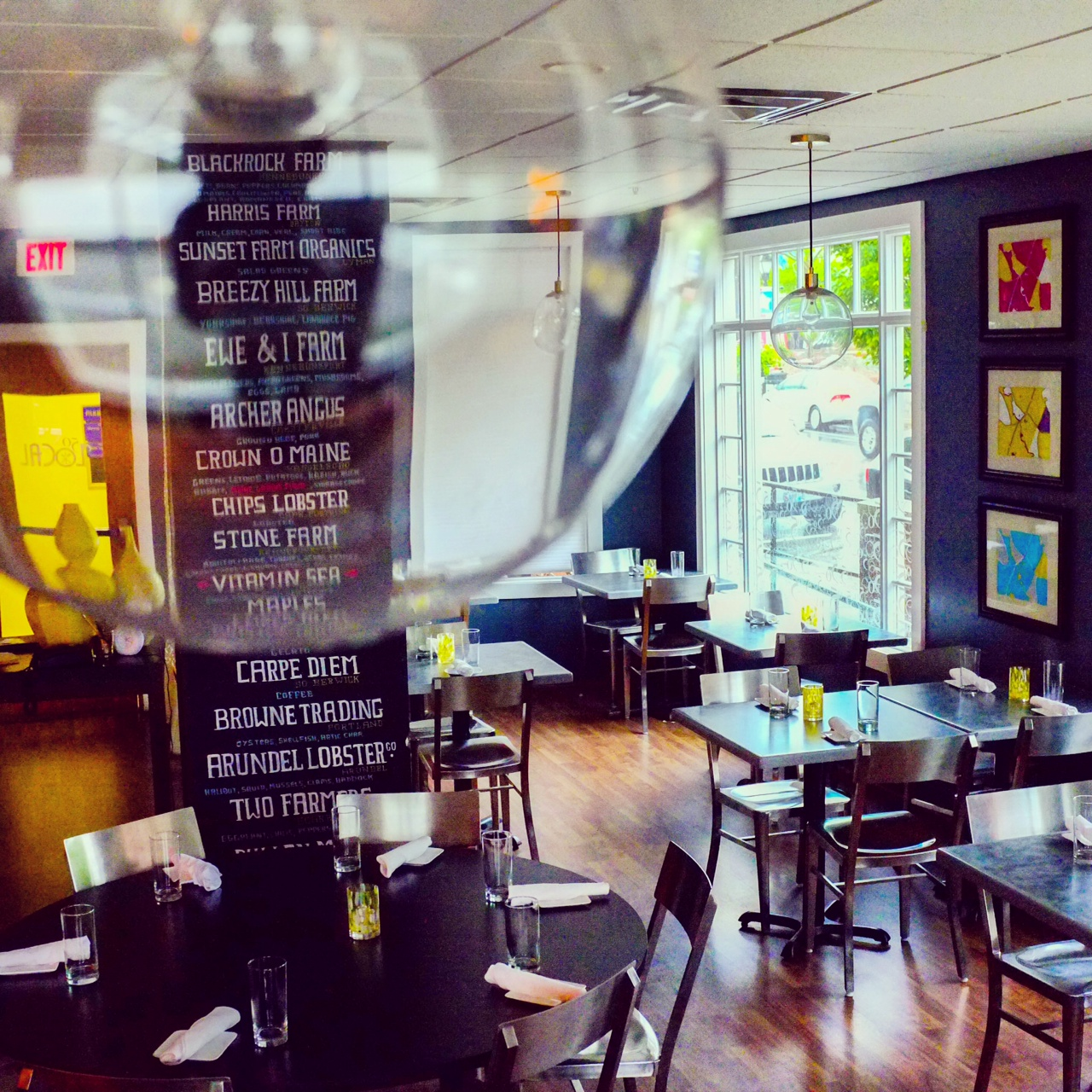 Try Farm To Table Restaurants In Kennebunkport Maine