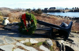 Anchor to Windward, Bush Memorial Kennebunkport, Maine