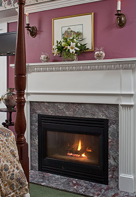 Berwick room fireplace