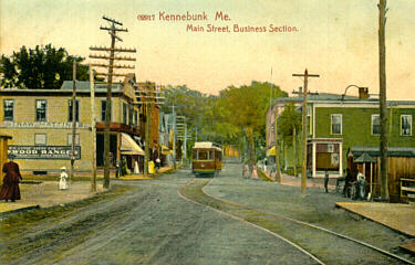 Kennebunks 1900s Trolley