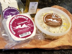 Silvery Moon cheeses